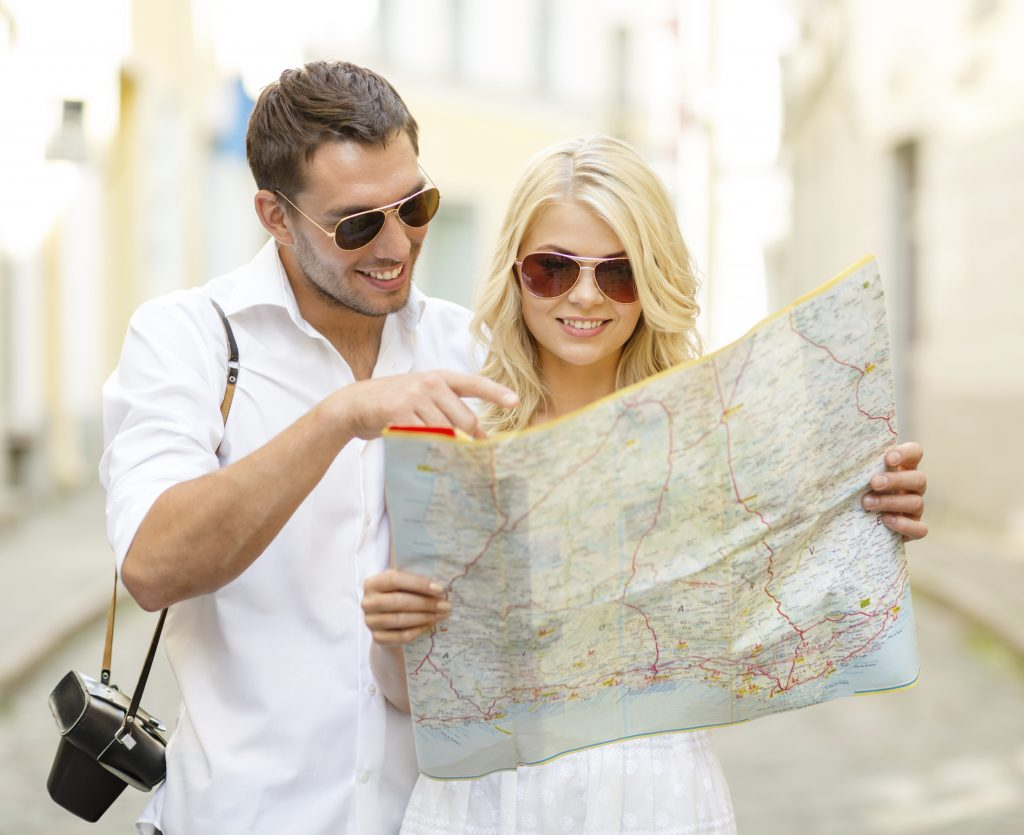 Image of a Couple Traveling